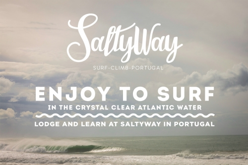 SaltyWay - surf climb Portugal