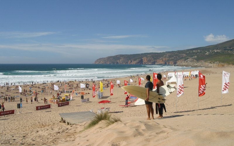 Wellenreiter in Guincho
